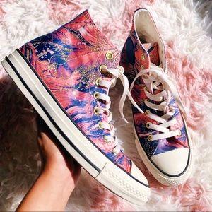 NEW Converse All Star Satin Hi Top Womens Sneakers